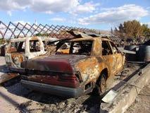 Gli effetti di fuoco Immagini Stock Libere da Diritti