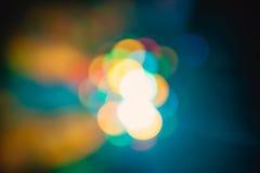 Gli effetti speciali della luce del club della discoteca di colore ed il laser mostrano Immagine Stock Libera da Diritti