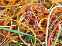 Gli elastici si chiudono in su Fotografia Stock Libera da Diritti