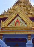 Gli elementi della decorazione del tempio dorato di Buddha Fotografia Stock