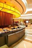 Gli emirati del Business class bighellonano fotografia stock