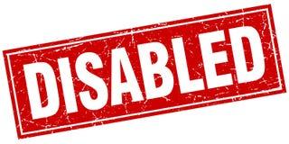 gli handicappati timbrano royalty illustrazione gratis