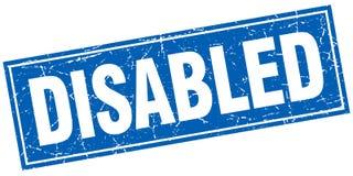 gli handicappati timbrano illustrazione di stock