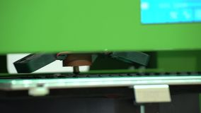 Gli impianti della stampante 3D video d archivio