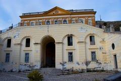 Gli impianti di seta di San Lucio, Caserta, tesse tessendo la seta dei bourbon fotografia stock libera da diritti
