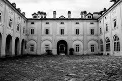 Gli impianti di seta di San Lucio, CasertaNa, tesse tessendo la seta dei bourbon immagini stock libere da diritti