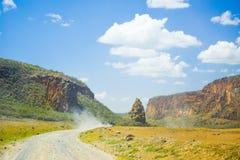 Gli inferni Gate, il Kenya Fotografia Stock