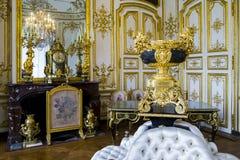 Gli interni del castello Chantilly Immagini Stock Libere da Diritti