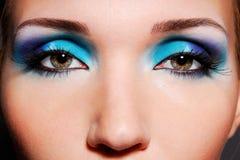 Gli occhi sensuali immagine stock