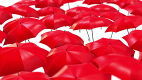 Gli ombrelli astratti che salgono nell'aria avvolgono il fondo royalty illustrazione gratis