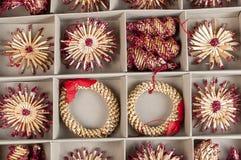 Gli ornamenti del nuovo anno Fotografia Stock Libera da Diritti