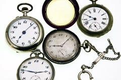 Gli orologi Fotografia Stock