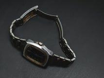 Gli orologi degli uomini anziani Fotografia Stock