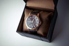 Gli orologi degli uomini costosi Immagine Stock Libera da Diritti
