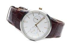 Gli orologi degli uomini sportivi alla moda. Fotografia Stock Libera da Diritti