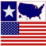 Gli S.U.A. illustrazione vettoriale