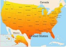 Gli S.U.A. Fotografie Stock Libere da Diritti
