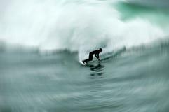 Gli S.U.A. praticanti il surfing Fotografia Stock