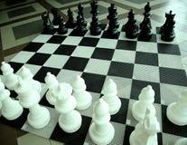 Gli scacchi Immagini Stock Libere da Diritti