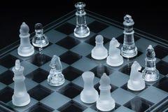 Gli scacchi danno scacco matto Fotografie Stock