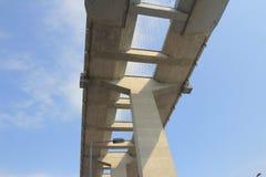 Gli scalpellini gettano un ponte su e la strada principale di sha di Tsing Fotografia Stock Libera da Diritti