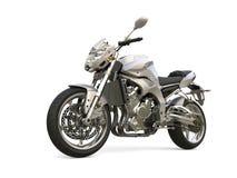 Gli sport moderni d'argento eccellenti bike - il colpo di bellezza Immagini Stock