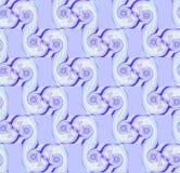 Gli sprials regolari senza cuciture modellano il blu beige porpora diagonalmente Fotografia Stock Libera da Diritti