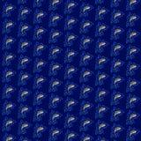 Gli squali modellano sul fondo del nero blu Fotografia Stock
