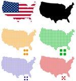 Gli Stati Uniti illustrazione di stock