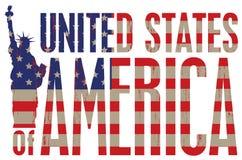 Gli Stati Uniti Fotografia Stock Libera da Diritti