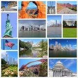 Gli Stati Uniti Fotografie Stock Libere da Diritti