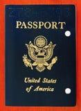 Gli Stati Uniti annullati Pasport immagini stock