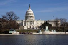 Gli Stati Uniti Campidoglio Builing Fotografia Stock