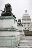 Gli Stati Uniti Campidoglio che costruisce nel Washington DC Fotografie Stock Libere da Diritti
