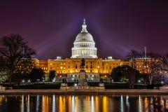 Gli Stati Uniti Campidoglio che costruisce, Washington DC Fotografia Stock Libera da Diritti