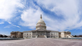 Gli Stati Uniti Campidoglio - costruzione di governo Fotografia Stock Libera da Diritti