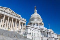 Gli Stati Uniti Campidoglio, Washington DC Fotografie Stock Libere da Diritti