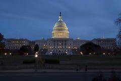 Gli Stati Uniti Campidoglio in Washington DC Fotografie Stock Libere da Diritti