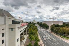Gli Stati Uniti Campidoglio in Washington DC Immagine Stock