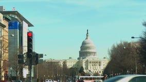 Gli Stati Uniti Capitol Hill archivi video