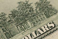 Gli Stati Uniti cento elementi del dollaro, macro eccellente, si chiudono sulla foto immagini stock libere da diritti
