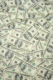 Gli Stati Uniti cento fatture del dollaro Fotografie Stock Libere da Diritti