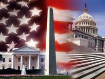Gli Stati Uniti d'America - Washington DC Immagine Stock Libera da Diritti