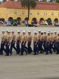 Gli Stati Uniti Marine Corp Graduation Immagine Stock