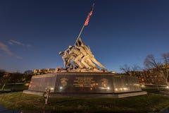 Gli Stati Uniti Marine Corps War Memorial Fotografia Stock