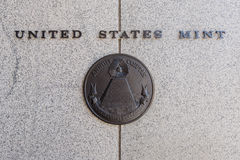 Gli Stati Uniti Mint Fotografie Stock Libere da Diritti