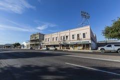 Gli Stati Uniti storici Route 66 in Kingman Arizona Fotografia Stock Libera da Diritti