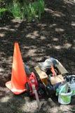 Gli strumenti del giardiniere Fotografia Stock