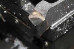 Gli strumenti metal la formazione, taglierina per il tornio Fotografie Stock Libere da Diritti