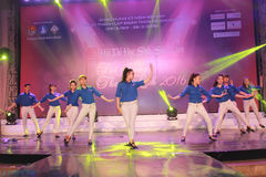 Gli studenti di concorso, talento dello studente Immagine Stock